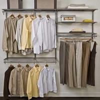 FreedomRail   Adjustable Closet Storage System
