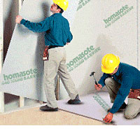 Homasote - Wall Sheathing