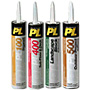 PL Adhesives & Sealants